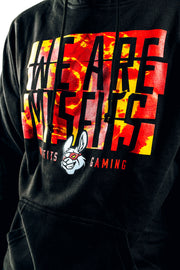Misfits Gaming Dyed In Hoodie, Black