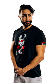 Misfits Gaming Logo Tee, Black