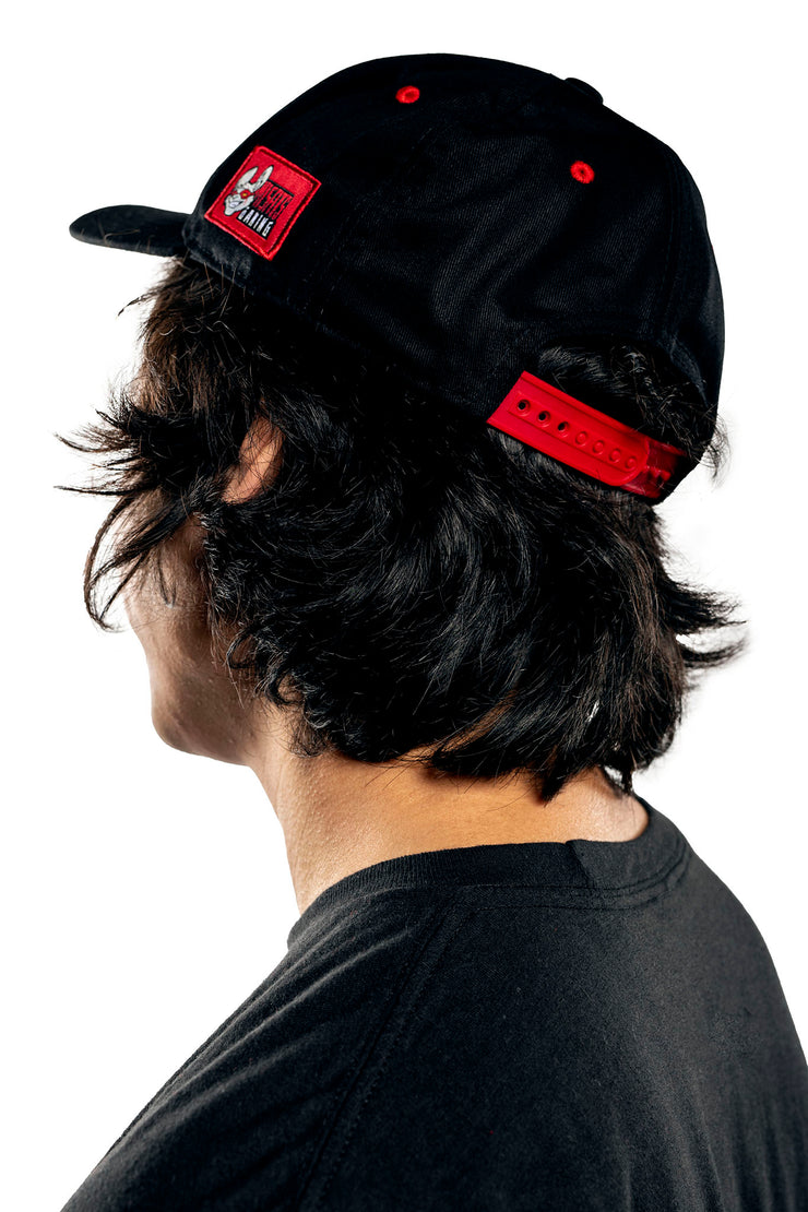 Misfits Gaming Pre-curved Snapback Cap, Black