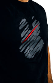 Misfits Gaming Scribble Tee, Black
