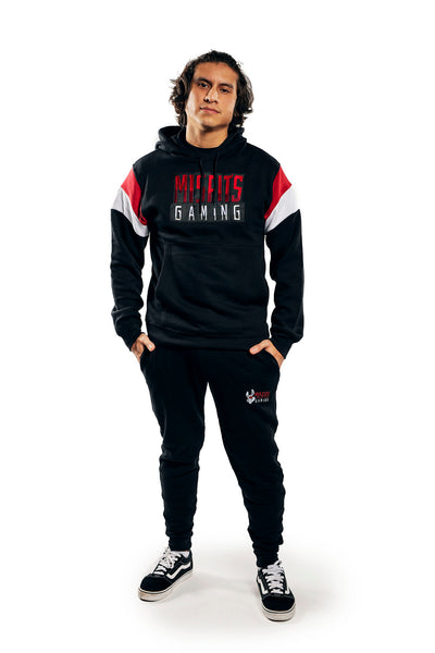 Misfits Gaming Throwback Popover Hoodie, Black