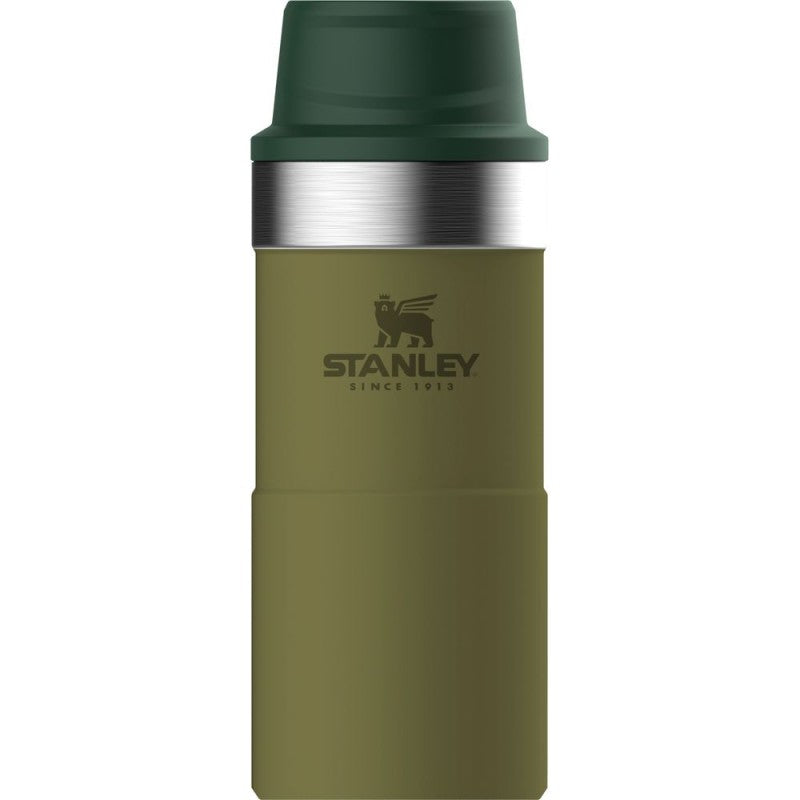 Stanley Classic Trigger-Action Thermosfles - 350ml - Olive Drab