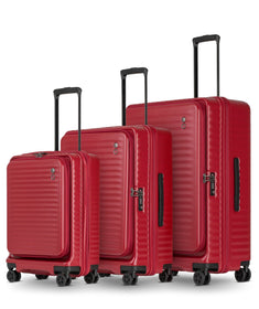 Echolac Celestra 4-Wheel Luggage S/M/L, Echolac Red