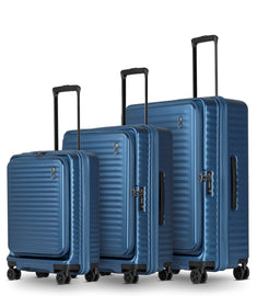 Echolac Celestra 4-wheel luggage S/M/L, Sky Blue
