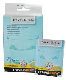 TravelSafe ORS Light - 12 stuks Lemon & Lime
