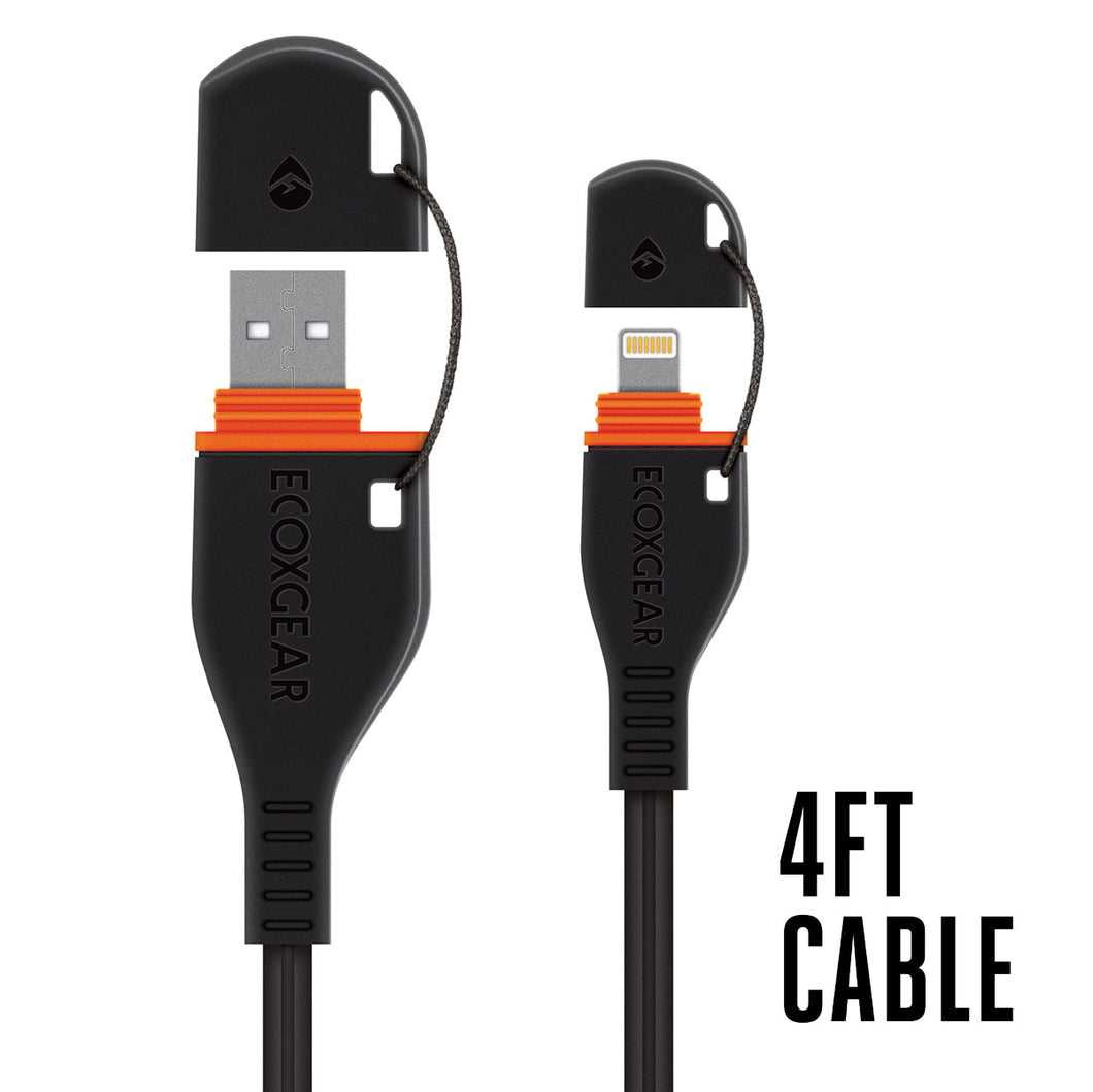 4ft Waterproof USB Cable