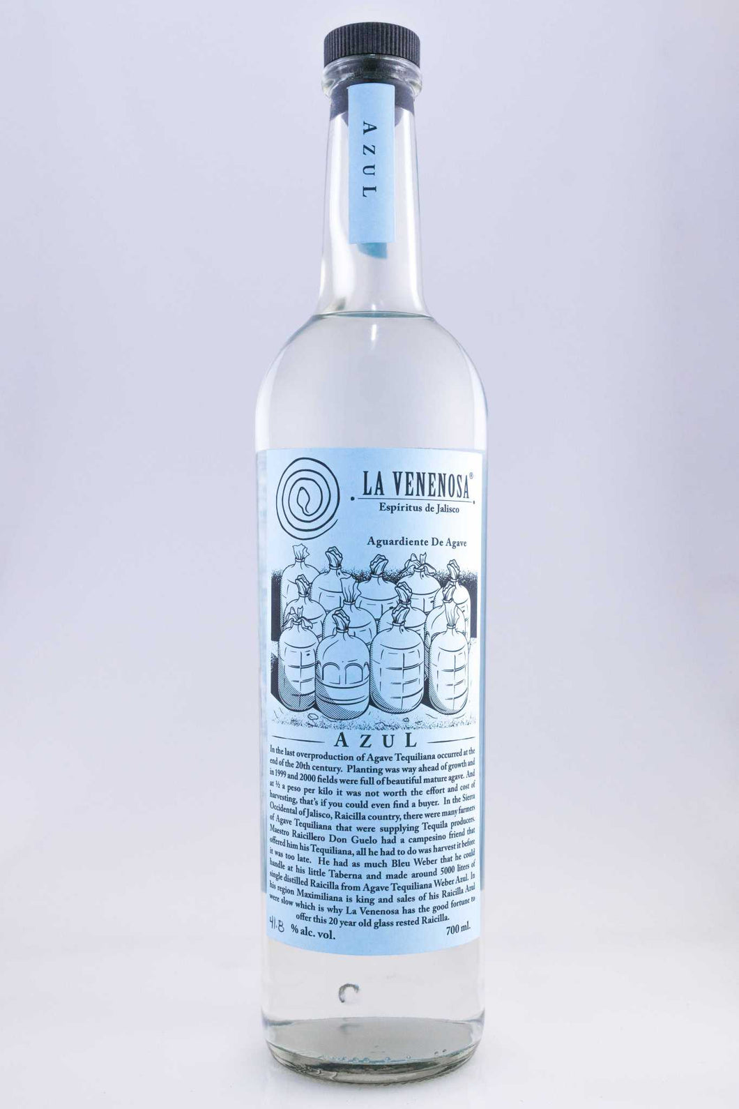 La Venenosa Azul unique batch
