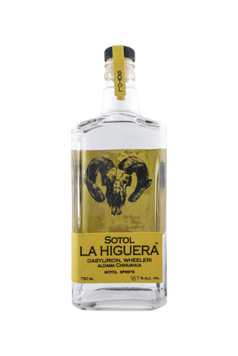Sotol La Higuera Wheeleri Bottle new