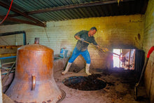 Load image into Gallery viewer, La Higuera Sotol Cedrosanum cleaning copper still