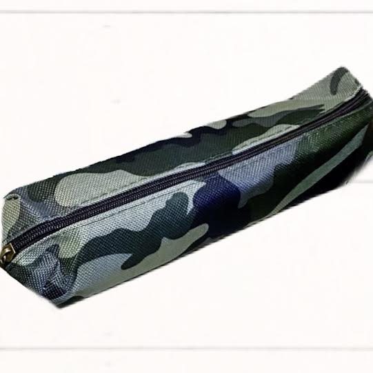 Camouflage Case with Zipper