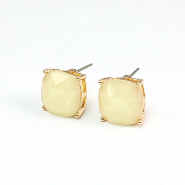 Classic Stud Earrings (Multiple Colors Available)