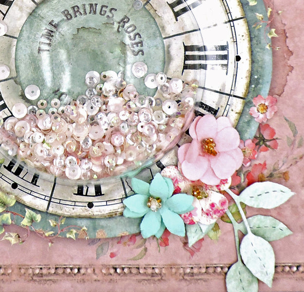 Time Brings Roses: A Mini Album for Tres Jolie Kits
