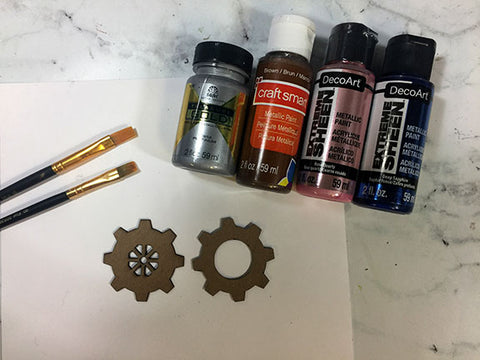 painting pieces