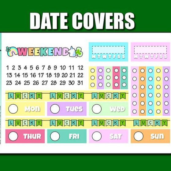 Functional - Date Covers - Lucky Clover