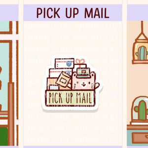 Functional - Pick up mail