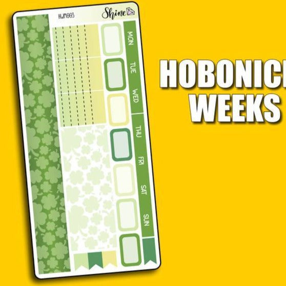 Monthly Kit - Weeks - St Patricks Day