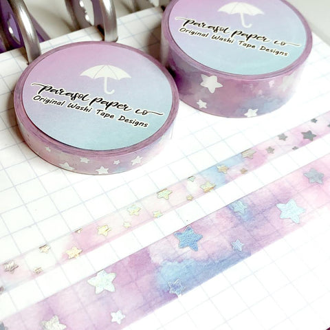 Washi - Skies - Cotton Candy (Set of 2)