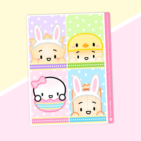 Full boxes - Easter - Characters