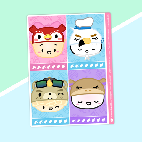 Full Boxes - Dimsum Crossing - Characters 2