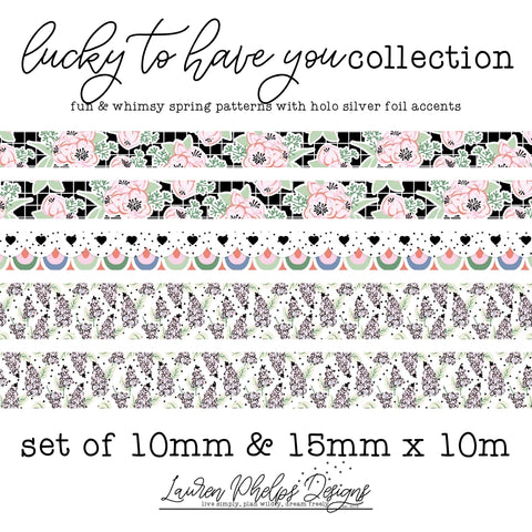 Washi - Lucky To Have You Collection