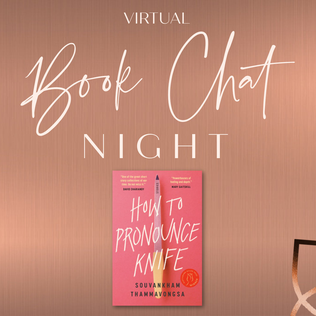 Event Ticket: Book Chat Night on
