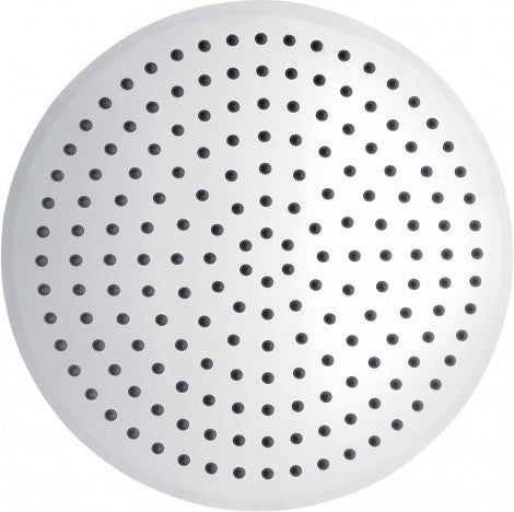 Pura Stainless Steel Slimline Round Shower Head - 350mm