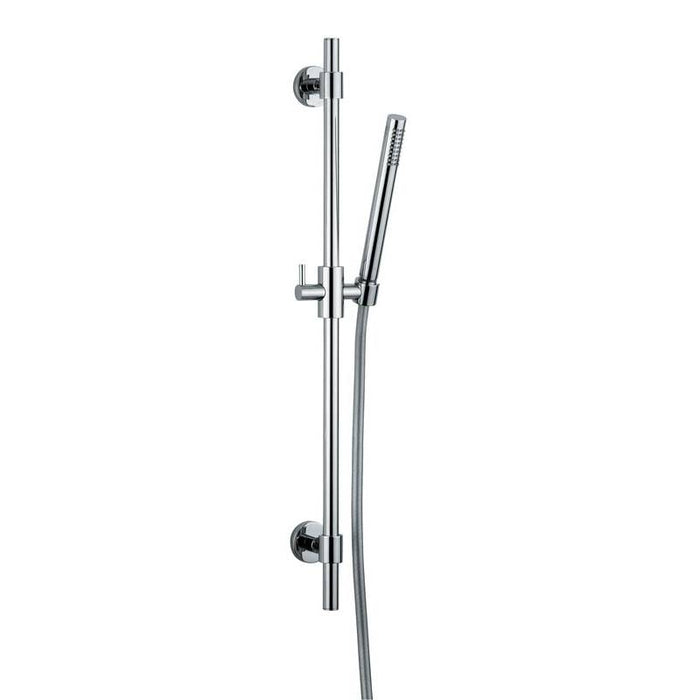 Sliding Rail Shower Kit 3 in Chrome