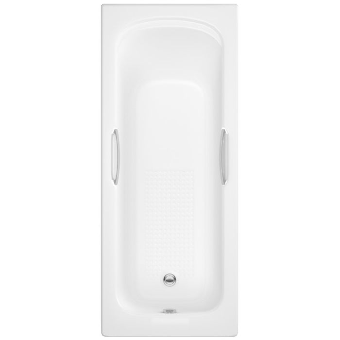 KARTELL ALPHA SINGLE ENDED TWIN GRIPPED BATH 1675MM X 700MM