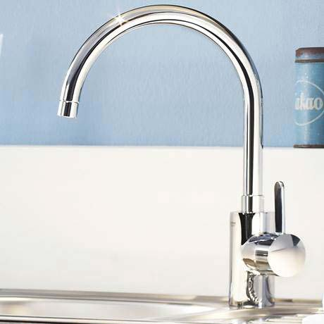 Eurosmart Cosmopolitan One Handle Basin Mixer High Spout
