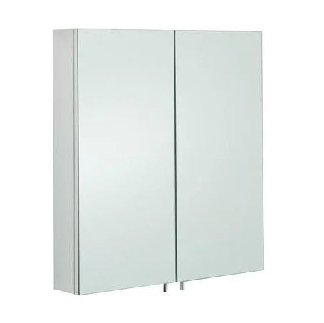 Rak Delta Stainless Steel Double Cabinet With Mirrored Doors