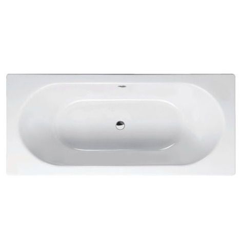 Wash Back to Wall Double Ended Thermaform Lucite Acrylic Bath