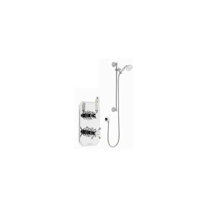 KARTELL VIKTORY OPTION 1 THERMOSTATIC CONCEALED SHOWER WITH SLIDE RAIL KIT