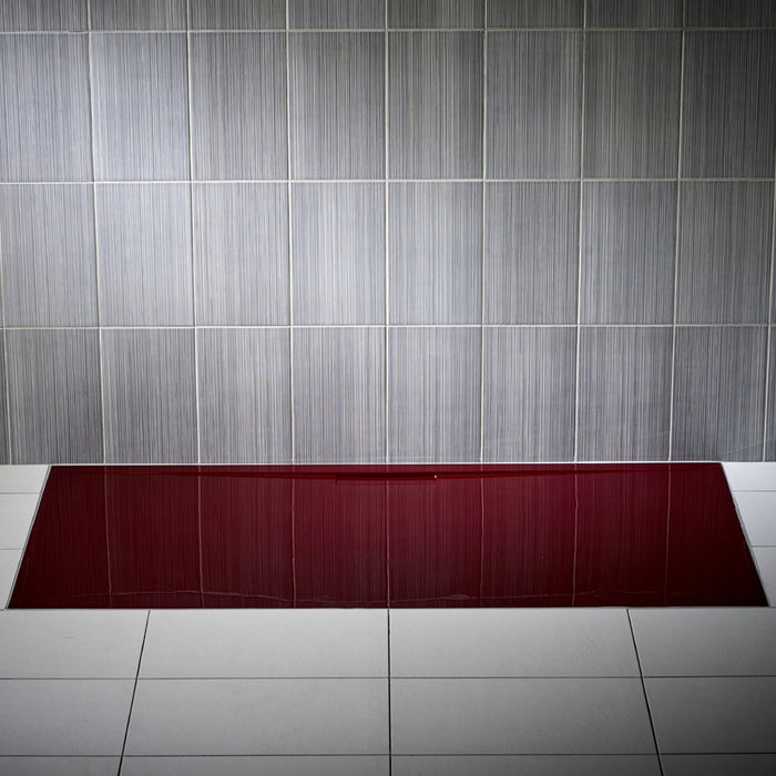 JT Evolved 25mm Rectangular Shower Tray Malbec Red - Choose Size