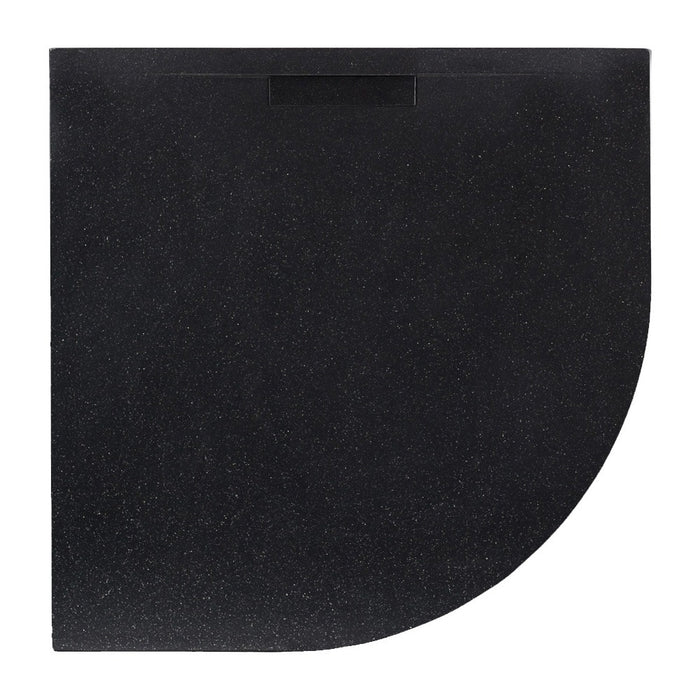JT Evolved 25mm Quadrant Shower Tray Astro Black - Choose Size