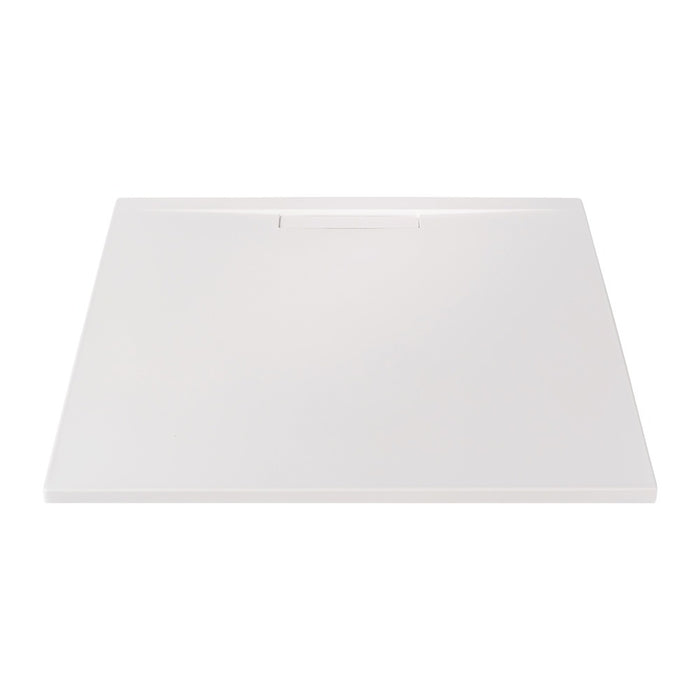 JT Evolved 25mm Square Shower Tray Gloss White - Choose Size