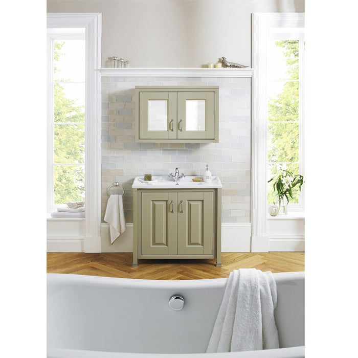 Old London 800 Traditional 2-Door Basin & Cabinet - Choose Colour