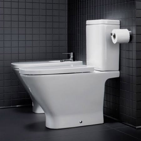 Roca - The Gap Close Coupled Toilet & Soft-Close Seat