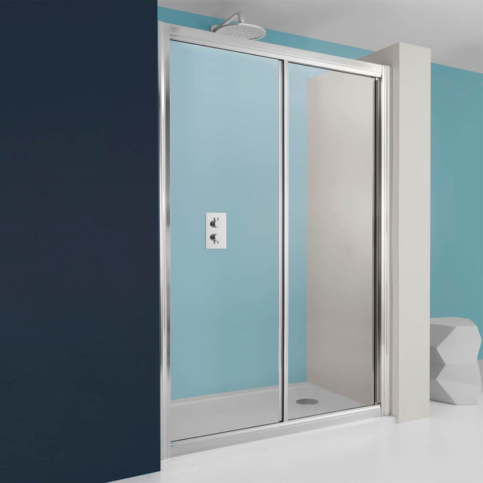 Crosswater Supreme Single Slider Shower Door - 1000mm