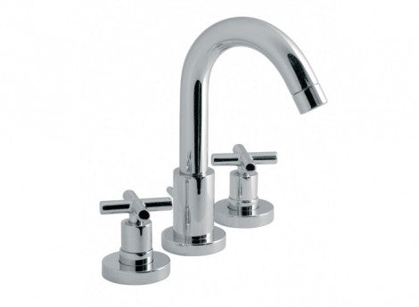 Vado Elements Water 3 Hole Basin Mixer