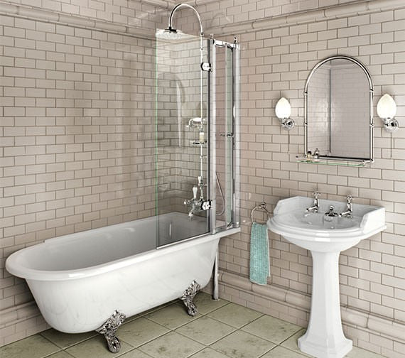Burlington Hampton Freestanding bath
