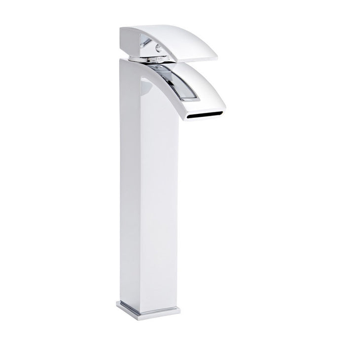Kartell Flair Chrome Hi Rise Mono Basin Mixer Tap