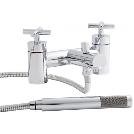 Kartell Times Chrome Bath Shower Mixer Tap