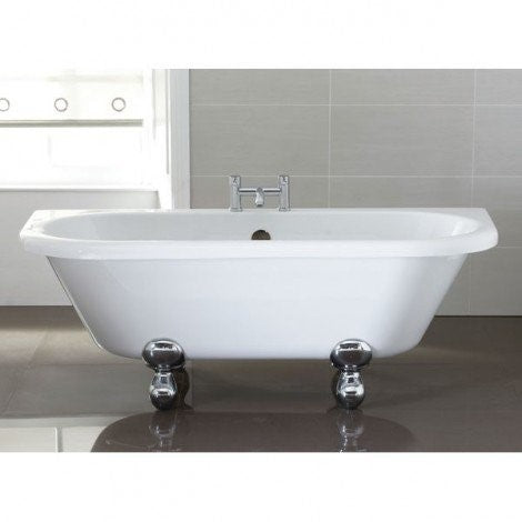 April Kildwick Thermolite Back to Wall Freestanding Bath