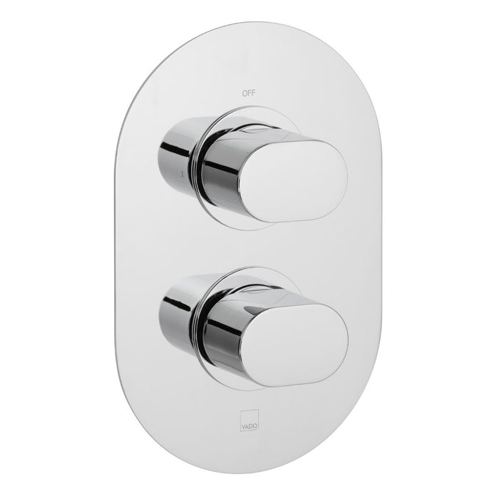 Vado LIFE 1 Outlet, 2 Handle Thermostatic Shower Valve