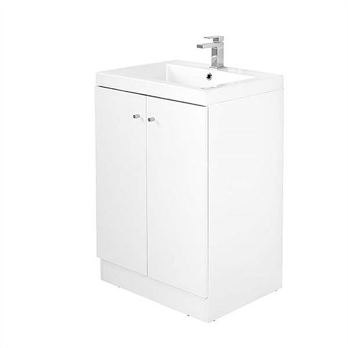 ALPINE DUO 600mm Polymarble BASIN ONLY | VANITY UNIT NOT INCLUDED