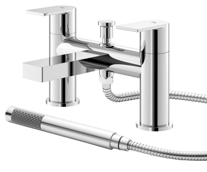 Sottile Deck Mounted Bath Shower Mixer Tap