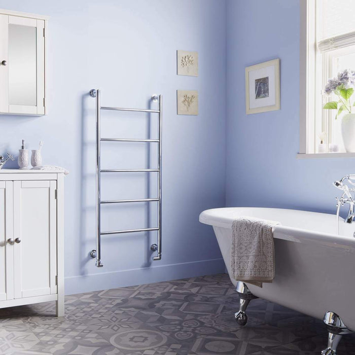 Towelrads Ballymore Modern Towel Rail Radiator - Chrome
