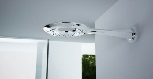 Nikles Tronico 250 LED Airdrop Fixed Shower Head & Arm in Chrome