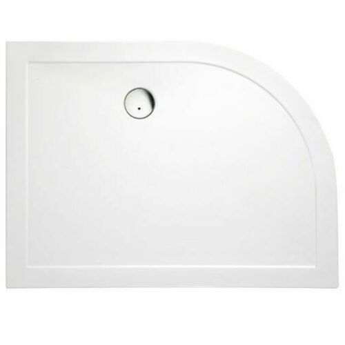 SURFACE OFFSET QUADRANT SHOWER TRAY 1200 X 900MM inc Waste