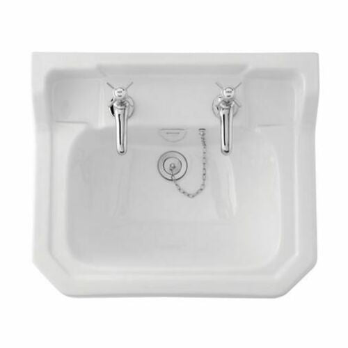Rochester Edwardian 560mm 1 or 2 Tap Hole Traditional Basin & Pedestal